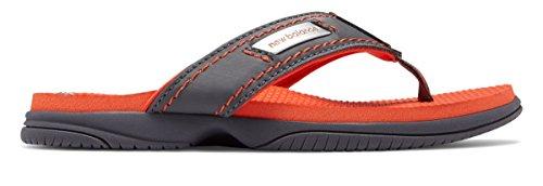 (ニューバランス) New Balance 靴?シューズ レディースサンダル Mojo Thong Grey with Orange グレー オレンジ US 12 (29cm)