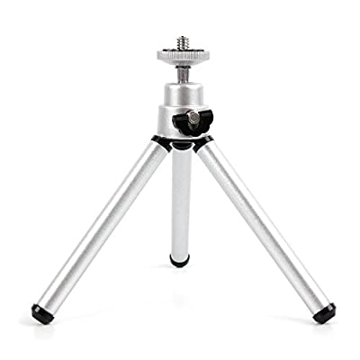 Ultra-Portable, Lightweight Aluminium Tripod with Sturdy, Collapsible Legs for the Aberg Best 18 mega pixels HD Digital Camera - by DURAGADGET