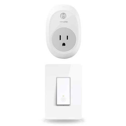 31zNNOuQD9L tp link smart plug and light switch bundle, wi fi, works with 2 Pole Switch Wiring Diagram at readyjetset.co
