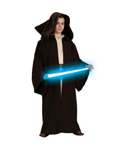 [Super Deluxe Jedi Robe Costume Accessory - Large] (Super Deluxe Jedi Robe Costume)