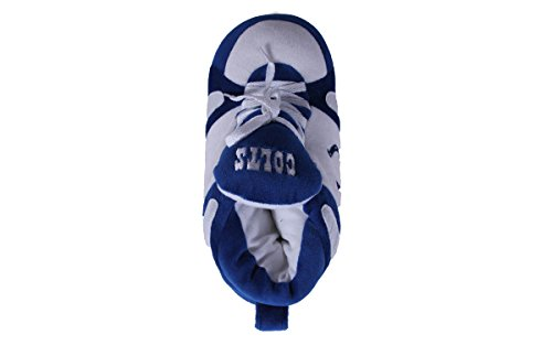 and Colts Happy Sneaker Womens OFFICIALLY Indianapolis Slippers Comfy Mens LICENSED Feet Feet NFL Yq5xpO7