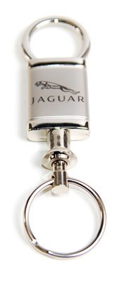 Jaguar Keychain (Au-TOMOTIVE GOLD Compatible Keychain and Keyring for Jaguar [KCV.JAG] - Valet)
