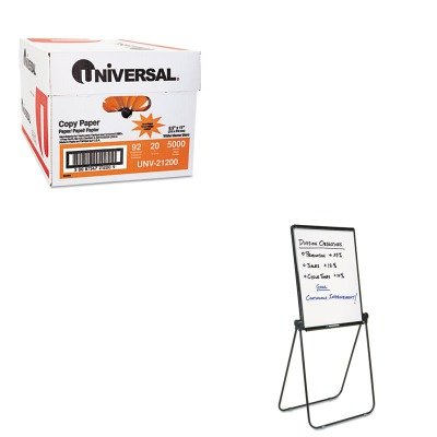 KITQRT101ELUNV21200 - Value Kit - Quartet Ultima Presentation Dry Erase Easel (QRT101EL) and Universal Copy Paper (UNV21200)
