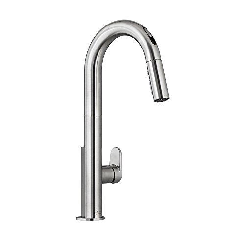 American Standard 4931380.075 Beale Single-Handle Pull Down Kitchen Faucet with Selectronic Hands-Free Technology, Stainless Steel