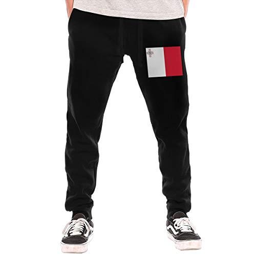 Men's Sweatpants Maltese Flag Athletic Jogger Sports Long Pants