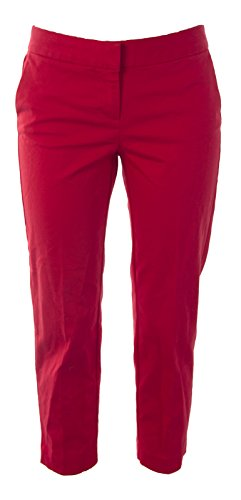 BODEN Women's Bistro Crop Trousers US Sz 6P Venetian Red Boden Trousers