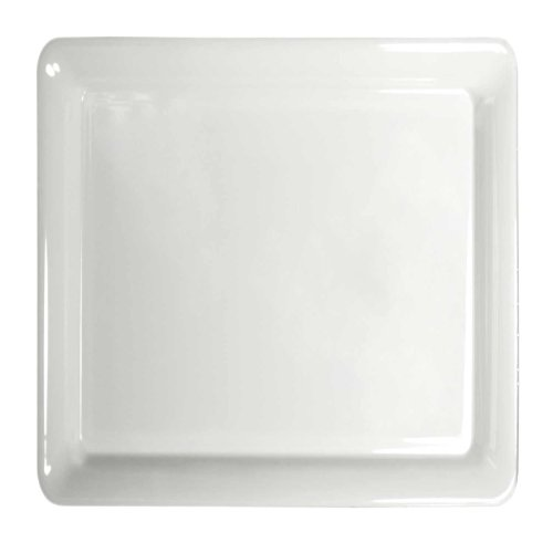 - Party Essentials N161604 Heavy Duty Plastic Square Tray, 16
