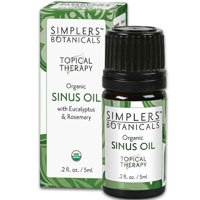 Sinus Oil Simplers Botanicals 5 ml Liquid