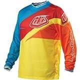 Troy Lee Designs GP Air Stinger Jersey - Medium/Yellow/Red