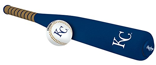 MLB Foam Bat and Ball Set Kansas City Royals,One Size,Blue