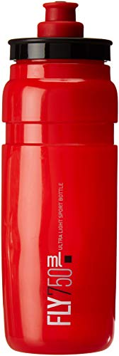 Elite Fly Logo Water Bottle, Red Black,750ml
