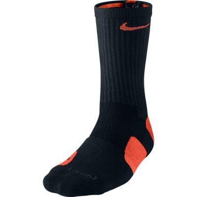 Nike Elite Socks (X-large, - Socks Black Orange Nike
