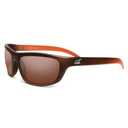 Kaenon Hutch Men's Polarized Lifestyle Authentic Sunglasses/Eyewear - Matte Tobacco/Copper 12 / One Size Fits All