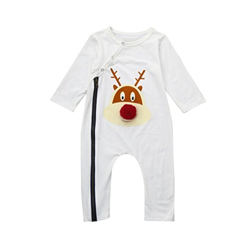 Matching Mother Son Halloween Costumes (Family Matching Outfits Mother & Me Infant Baby Hairball Deer Romper Playsuit Family Clothes (6M, Baby))