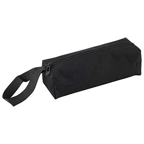 電気技師用ツールホルダー、電気技師用ツールバッグProtable Small Hand-held Tool Holder Pocket Storage Bag多機能ワークバッグ電気技師用ストレージバッグ(ブラック)