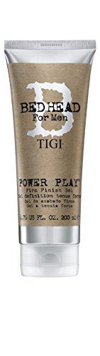 TIGI Bed Head for Men Power Play Firm Finish Gel, 6.76 Fluid - Spray Style Gel High Gloss