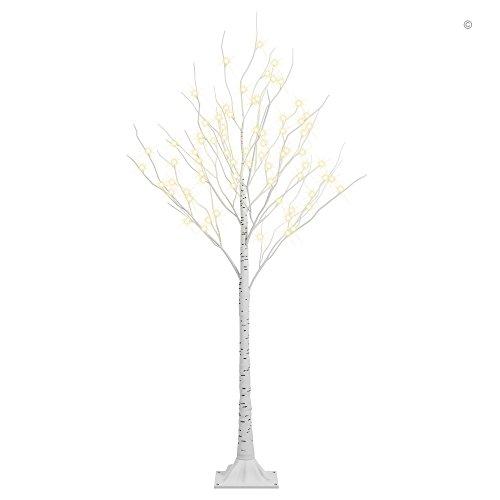 Lightshare Tall Lighted Birch Tree, Medium by Lightshare