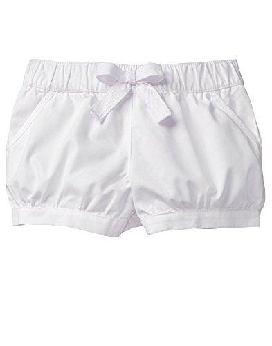 Gymboree Girls' Toddler Bubble Short, White 2T ()