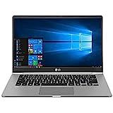 "Notebook LG Gram, Intel Core i5-8250U, 8GB RAM, 256GB SSD, Tela Full HD 14"", Windows 10 - 14Z980-G.BH51P1 - Cinza"