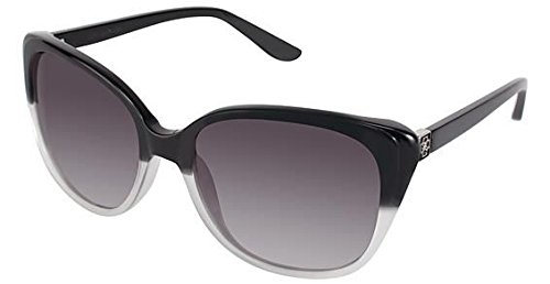 Ann Taylor Townhouse Sunglasses - Frame BLACK, Lens Color Gray - Ann Taylor Sunglasses