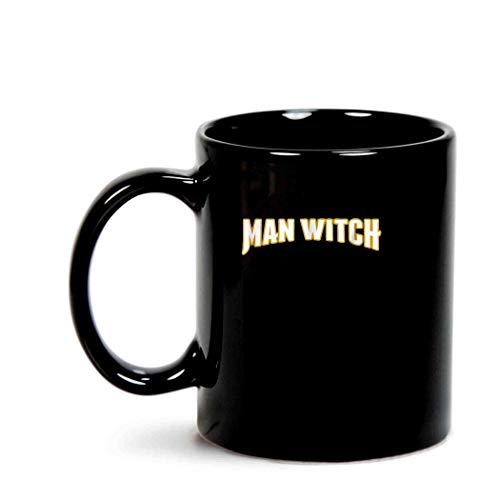 Halloween Couples Costume Warlock Mens Witch]()