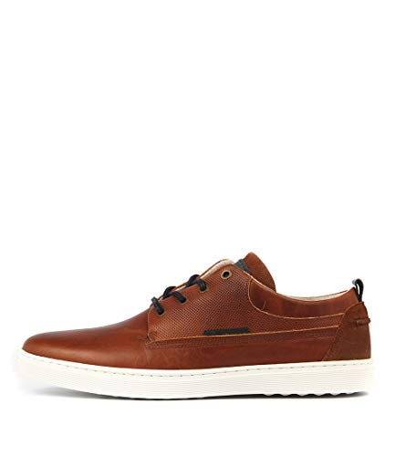 Wild Rhino TEX Tan Mens Sneakers Mens Sport Shoes Tan Leather