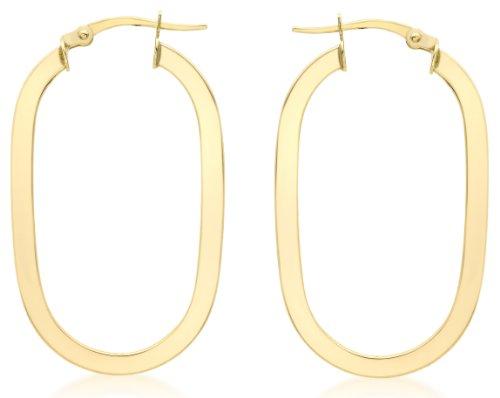 Carissima Gold - Boucles d'oreille - Femme - Or jaune (9 carats) 1.9 Gr