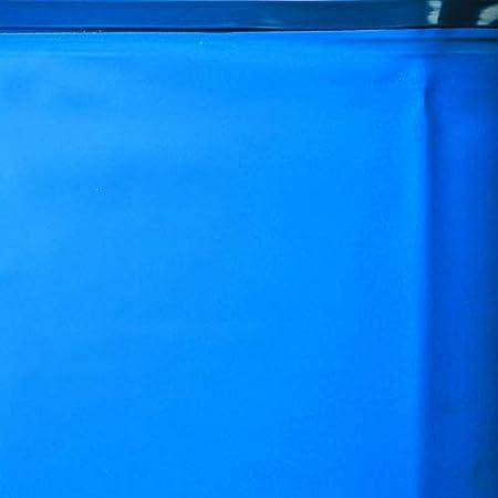 Liner para Piscinas Redondas Di/ámetro de 550 cm Color Azul Altura de 132 cm Gre FPR558