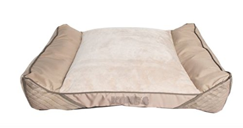 KONG Lounger Heavy Duty Pillow Bed Beige Brown
