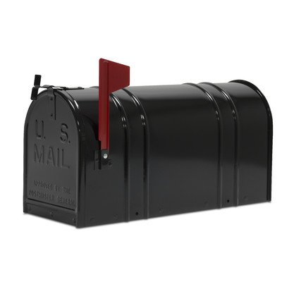 Tapco 166-00029 T2 Rural Mailbox, Black