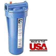 Campbell Mfg 1PP-B1H Heavy Duty Filter Housing w/Opaque Bowl & Release, 1''