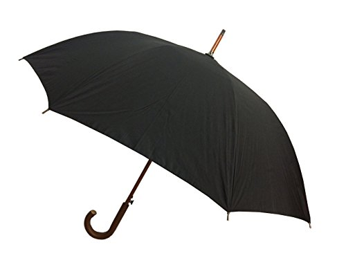 London Fog Auto Stick Umbrella, Black, One - Fog Frames London