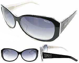 黒 FLY(ブラックフライズ) FLY GIRLS FUNK WRAP(ファンクラップ) 黒.白い-CLEAR/SMK.Gr