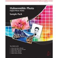 Hahnemuhle Fine Art Inkjet Photo Paper Sample Pack, 8.5x11