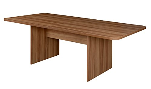 Niche NCT8442WC Mod 7' Conference Table with No-Tools Assembly, Warm Cherry