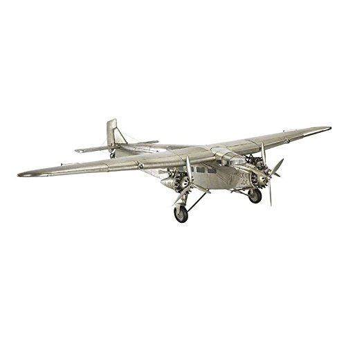 Ford Trimotor Airplane Tin Goose Plane Desktop Model Pre-Built Aircraft