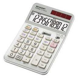 パソコン オフィス用品 電卓 SHARP 実務電卓(ナイスサイズタイプ) EL-N942C-X -ah [簡素パッケージ品] B07D6LQ64W