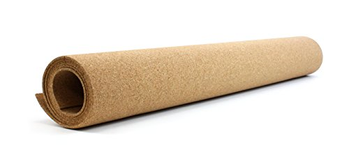 U Brands Natural Craft Cork Roll Arts and Crafts 48 x 24 Inches 281U0408