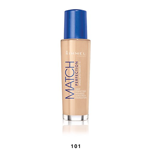 Rimmel Match Perfection Foundation, Classic Ivory, 1 Fluid Ounce