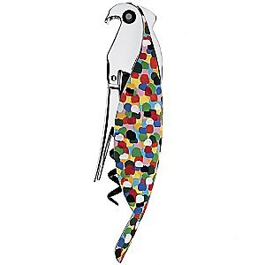 Parrot Sommelier Corkscrew by Alessi