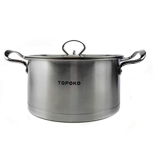 Big Sale-Topoko Stainless Steel 4-quart Saucepot - Perfect F