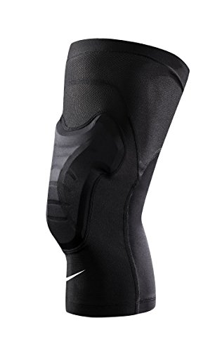Men's Nike Hyperstrong Padded Knee Sleeves Black/White Size Large/X-Large