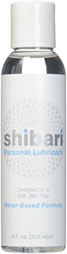Shibari Water Based Intimate Lubricant, 4oz Bottle