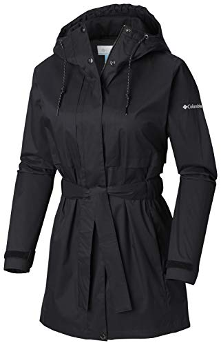 Columbia Women's Pardon My Trench Rain Jacket, Breathable, Lightweight