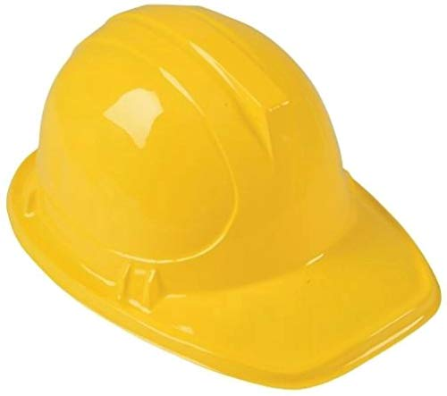 Construction Worker Set of 6 Vests, 6 Helmets and Caution Tape Kids Costumes Pretend Role Play
