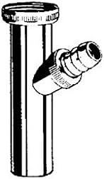 Kludi Verstellrohr 1046205-00 11//4 x200mm f/ür Anschl.v.Waschmasch-Abwasserschl verchromt