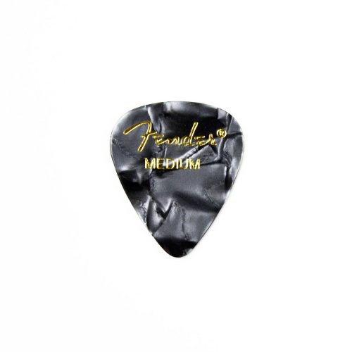 Gray Guitar Pick Strong Handmade Fridge Magnet