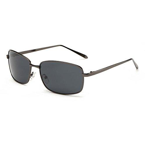 De Metal UV400 Graygungray Des Polarized Sun Mode Homme Lunettes Conduisant wB4qTxA