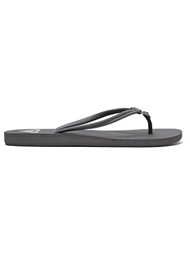 Gris Tongs Dark Roxy ARJL100649 Femme Solis pour Grey qfxxXwvA5