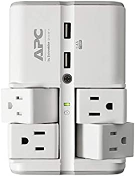 APC PE4WRU3 Wall Pivot-Plug 1080 Joule Surge Protector